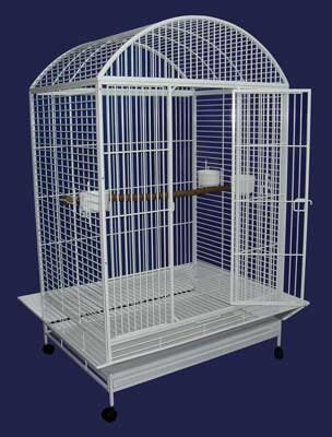 Ollie X-Large Dome Parrot Bird Cage by Tucker Murphy Pet