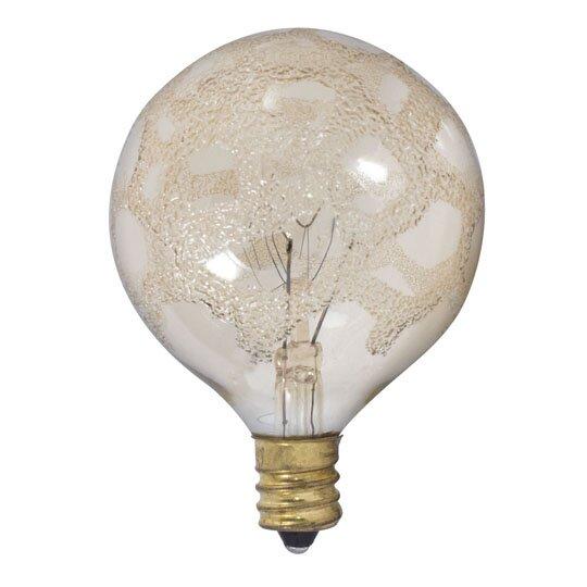 Bulbrite Industries 25 Watt G16 5 Incandescent Dimmable Light Bulb E12 Candelabra Base Wayfair