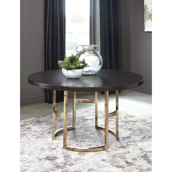 Scandia Dining Table by Everly Quinn Everly Quinn