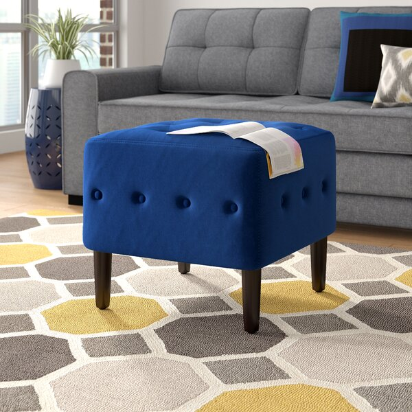Ramm Tufted Ottoman by Wrought Studio