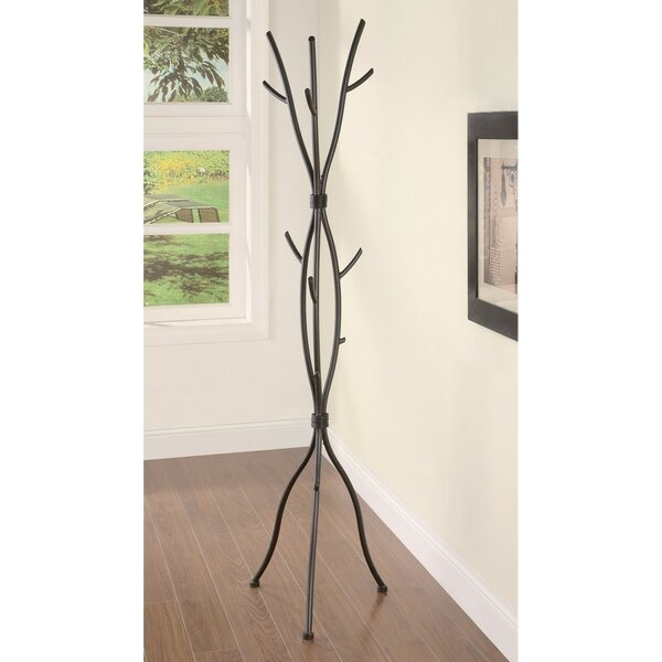 Weishaar Twig Style Metal Coat Rack by Millwood Pines