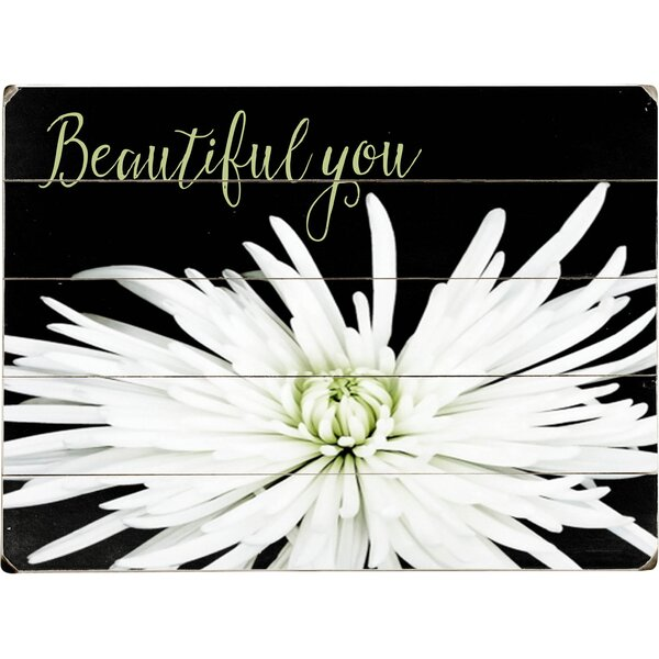 Beautiful You Graphic Art Multi-Piece Image on Wood by Artehouse LLC