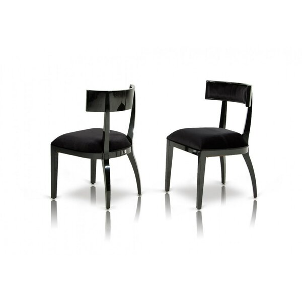Eisner Modern Side Chair (Set of 2) by Orren Ellis