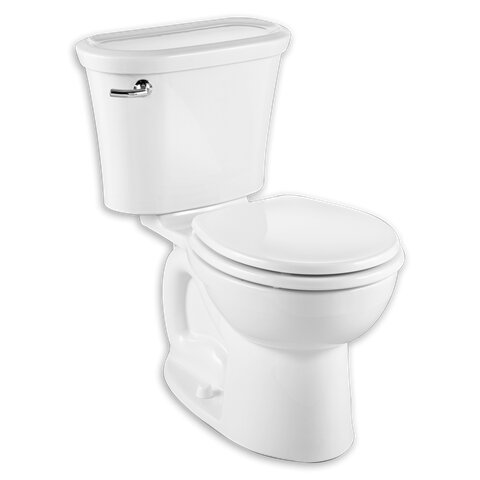 Cadet Tropic 1.28 GPF Round Two-Piece Toilet by American Standard