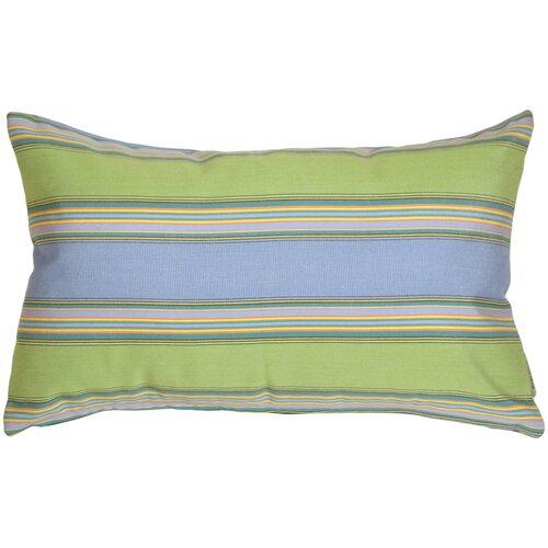 Osceola Limelite Outdoor Sunbrella Lumbar Pillow by Latitude Run