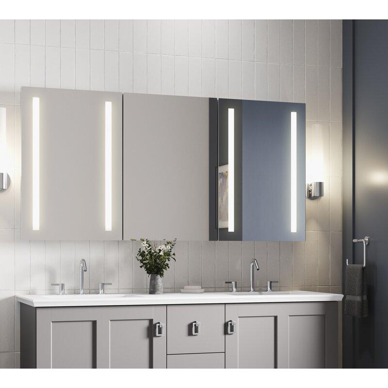 Kohler Verdera 60w X 30h Lighted Medicine Cabinet Wayfair