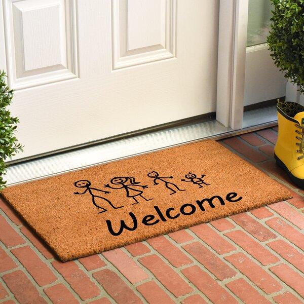 Kuebler Stick Family Doormat by Winston Porter