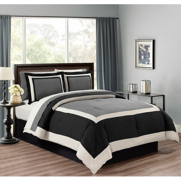 Jacobson 8 Piece Soft Comforter Set by Orren Ellis