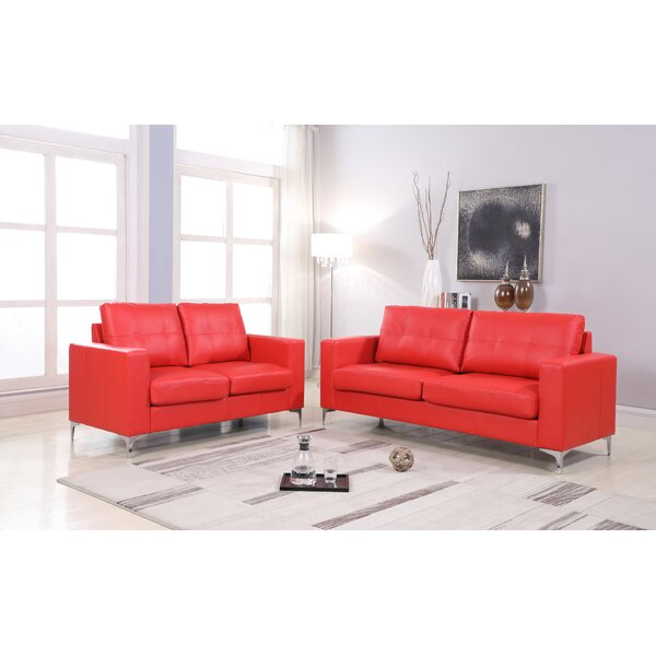 Coe 2 Piece Living Room Set by Orren Ellis