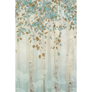 Dream Forest II Painting Print on Wrapped Canvas by East Urban Home
