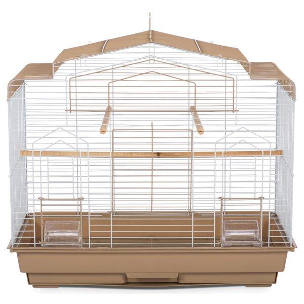Barn Bird Cage with Food Access Door by Prevue Hen