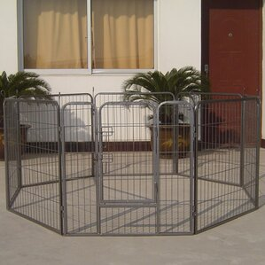Heavy Duty Metal Tube Exercise U0026 Training Dog Pen