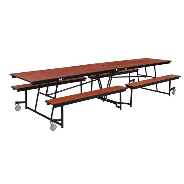 120 x 54.75 Rectangular Cafeteria Table by Nationa