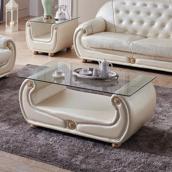 Alleyne Coffee Table By Everly Quinn