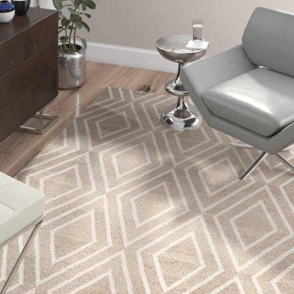 Mata Kilim Ivory/Gray Area Rug by Wade Logan