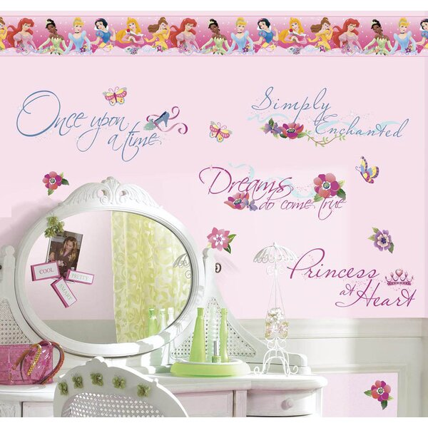 Disney Princess Quotes Room Makeover Wall Decal by Wallhogs