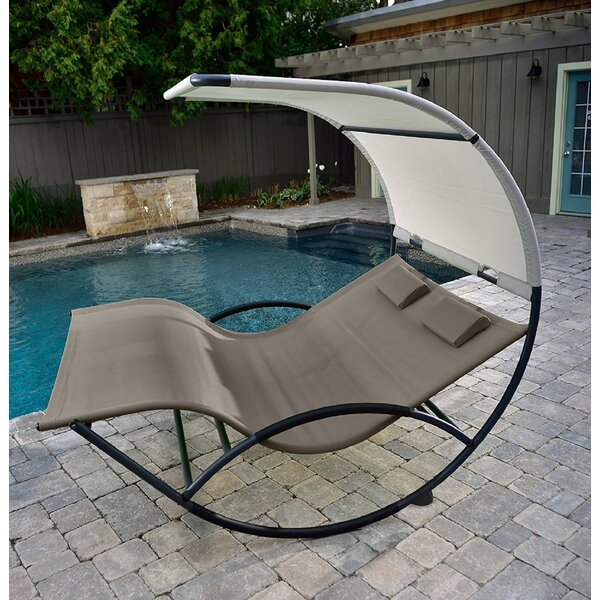 Mathis Double Rocking Chair by Vivere Hammocks