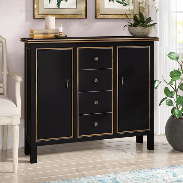 Lark Manor Lino 4 Drawer 2 Door Cabinet & Reviews by Lark Manor