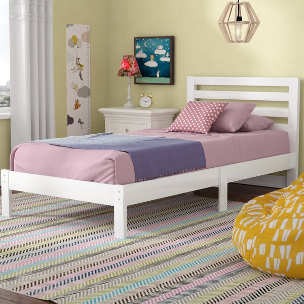 Nordheim Twin Platform Bed by Harriet Bee