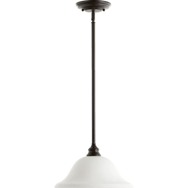 Asheville 1-Light Cone Pendant by Andover Mills