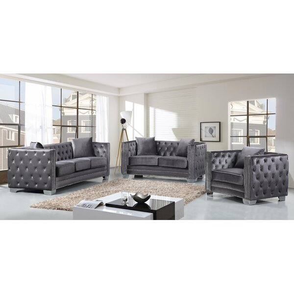 Creekside Configurable Living Room Set by Everly Quinn