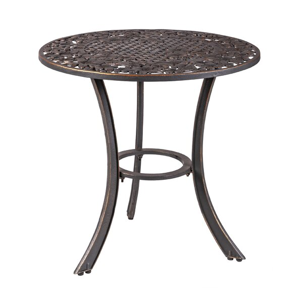 Mielke Cast Iron Dining Table by Canora Grey