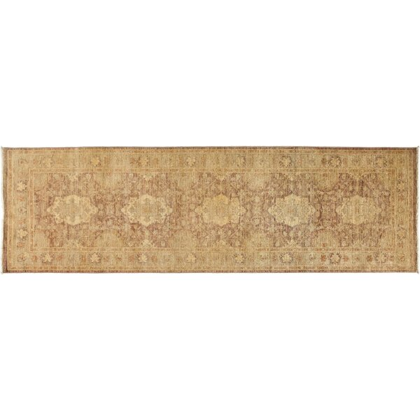 One-of-a-Kind Oushak Hand-Knotted Beige Area Rug by Darya Rugs