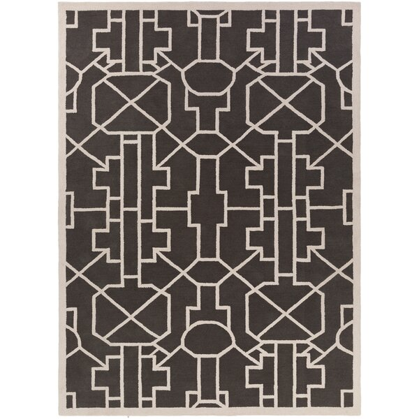 Salamanca Hand-Crafted Slate Area Rug by Mercer41