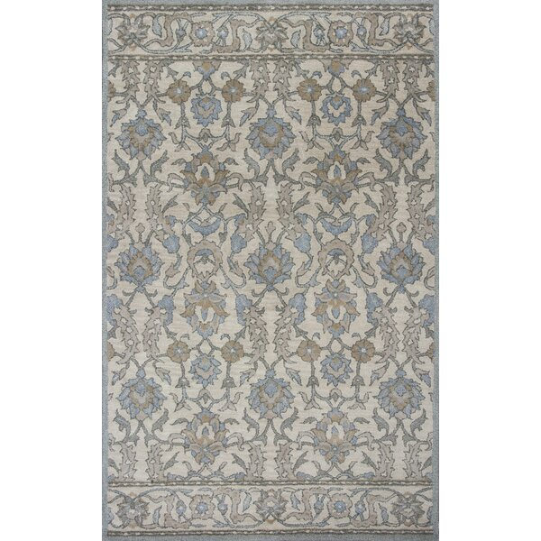 Nadir Hand-Tufted Ivory Area Rug by World Menagerie