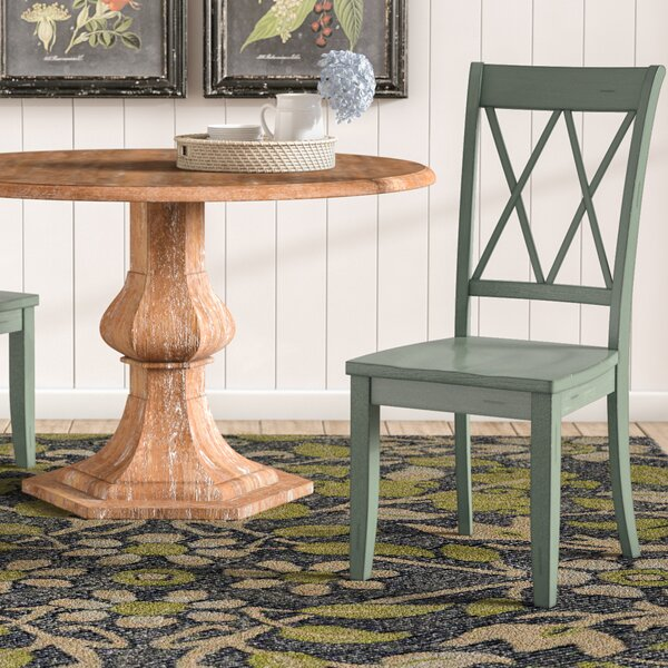 Olde Berry Solid Wood Dining Chair (Set of 2) by Laurel Foundry Modern Farmhouse
