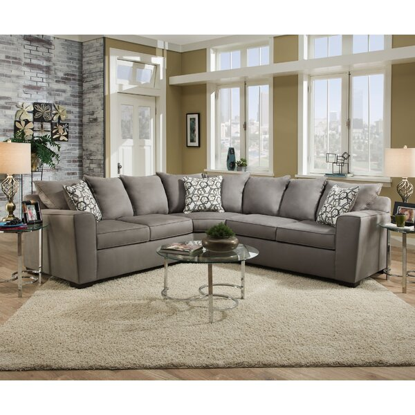 Marta Upholstery Sectional by Latitude Run