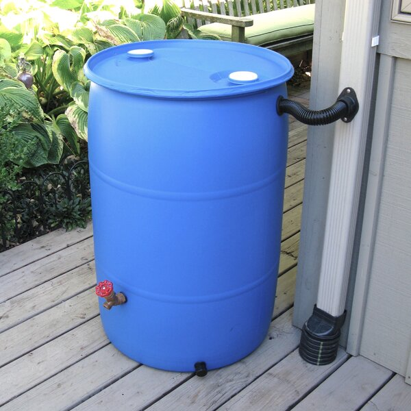 DIY Rain Barrel Diverter & Parts Kit by EarthMindedConsumerProducts