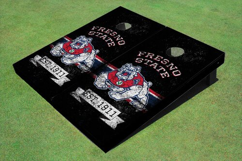 NCAA 10 Piece Cornhole Board Set by All American Tailgate