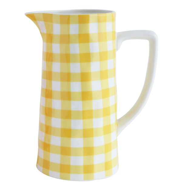 Hausman Stoneware 64 oz. Pitcher (Set of 2) by August Grove