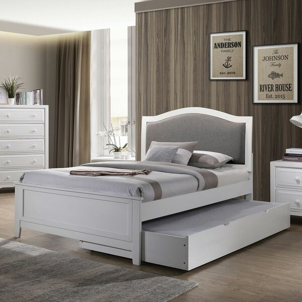 Conn Platform Bed with Trundle and Drawers by Charlton Home