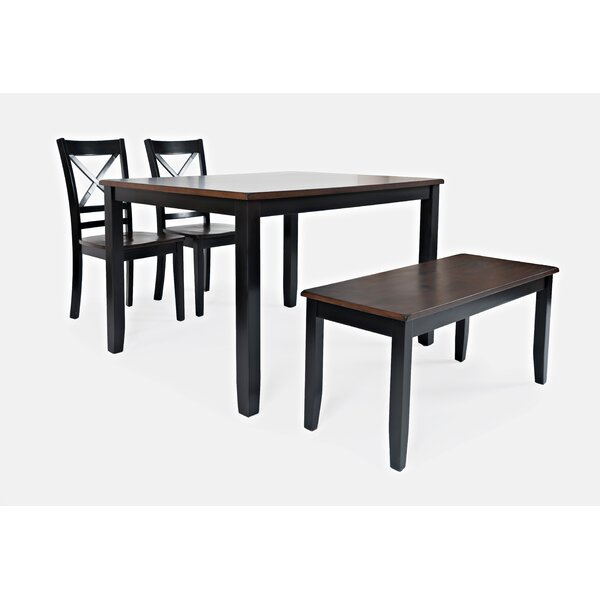 Jagger 4 Piece Counter Height Dining Set by Breakwater Bay