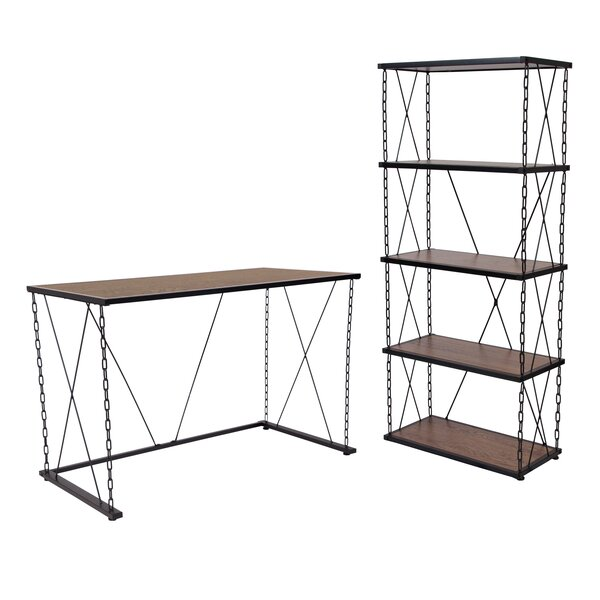 Cardwell 2 Piece Desk Office Suite by Williston Forge