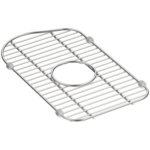 Staccato Stainless Steel Small Sink Rack by Kohler
