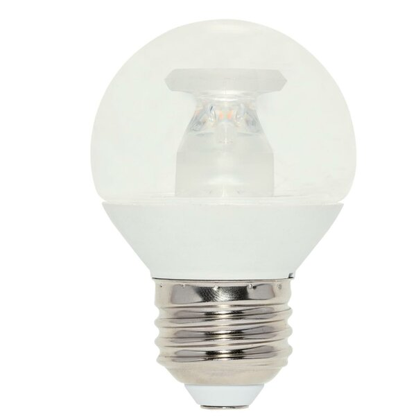 7W E26 Dimmable LED Globe Light Bulb (Set of 6) by Westinghouse Lighting