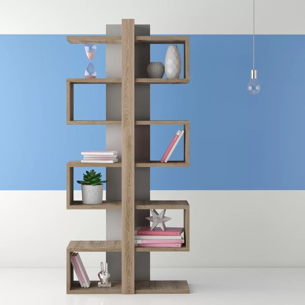 Phan Modern Geometric Bookcase By Wrought Studio