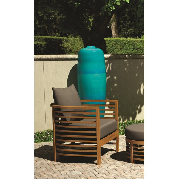 Teak Patio Chair with Cushions by Seasonal Living