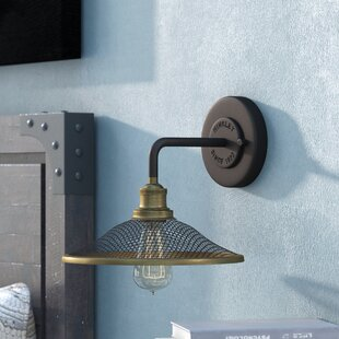 Low priced Cavett 1-Light Wall Sconce By 17 Stories