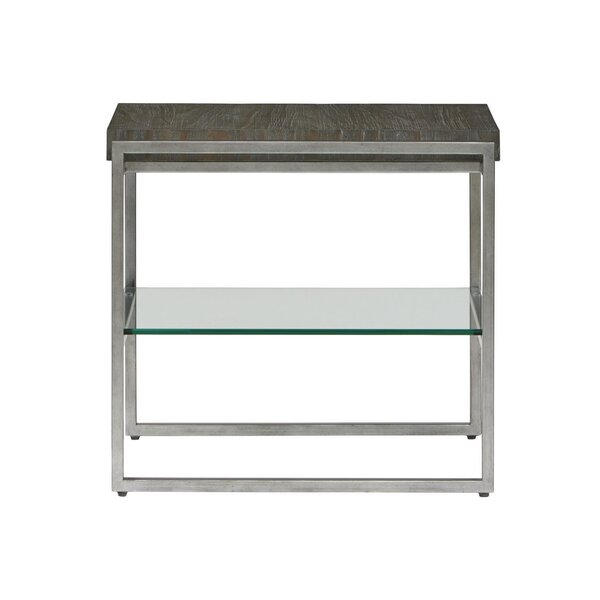 Liverman Rectangle End Table by 17 Stories