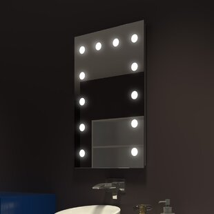 Tarek Illuminated Bathroom/Vanity Mirror ByEverly Quinn