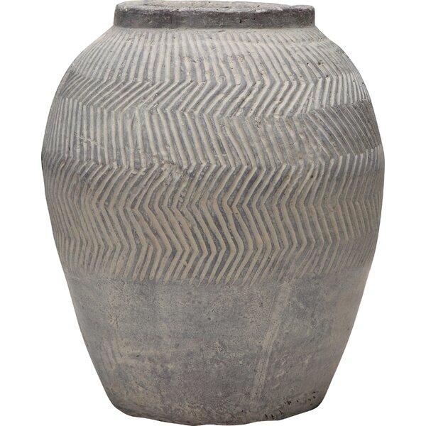 Villanueva Cement Pot Planter by World Menagerie