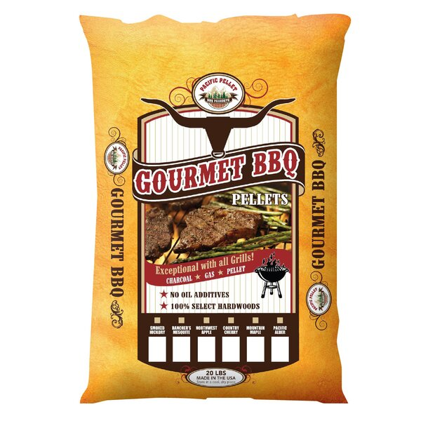 20 lbs Bag Gourmet Pellet by Pacific Pellet