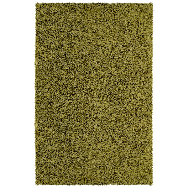 Baugh Shag Chenille Moss Area Rug by Ebern Designs