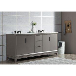 Tappahannock 72 Double Bathroom Vanity Set ByIvy Bronx