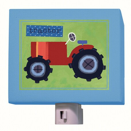 Tractor Night Light by Oopsy Daisy