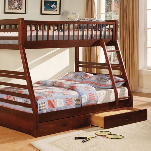 Hetton Twin Over Full Bunk Bed by Harriet Bee